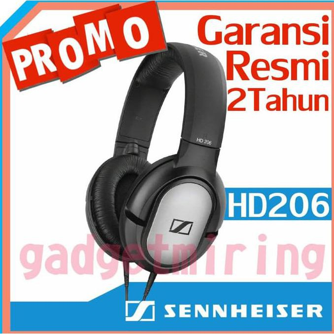 ce4f2e8434d Sennheiser HD 206 / HD206 / HD-206 Headphone | Shopee Indonesia
