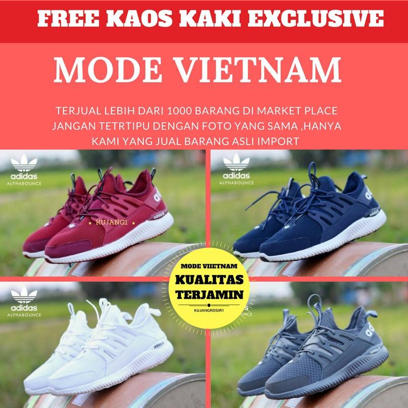 143d3377ae824d Sepatu Adidas Alphabounce Man Grade Ori (running