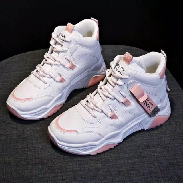 Dress Brukat Kekinian Tpb Q052 New Arrival 2020 Sepatu Sneaker