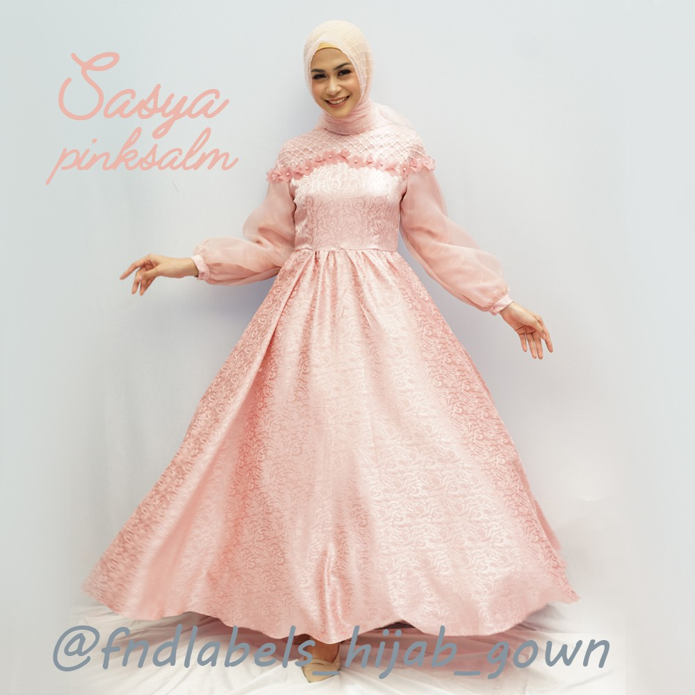 Marbela Dress Warna Peach Mix Biru Muda Daftar Update Harga Plumette Pech Pink