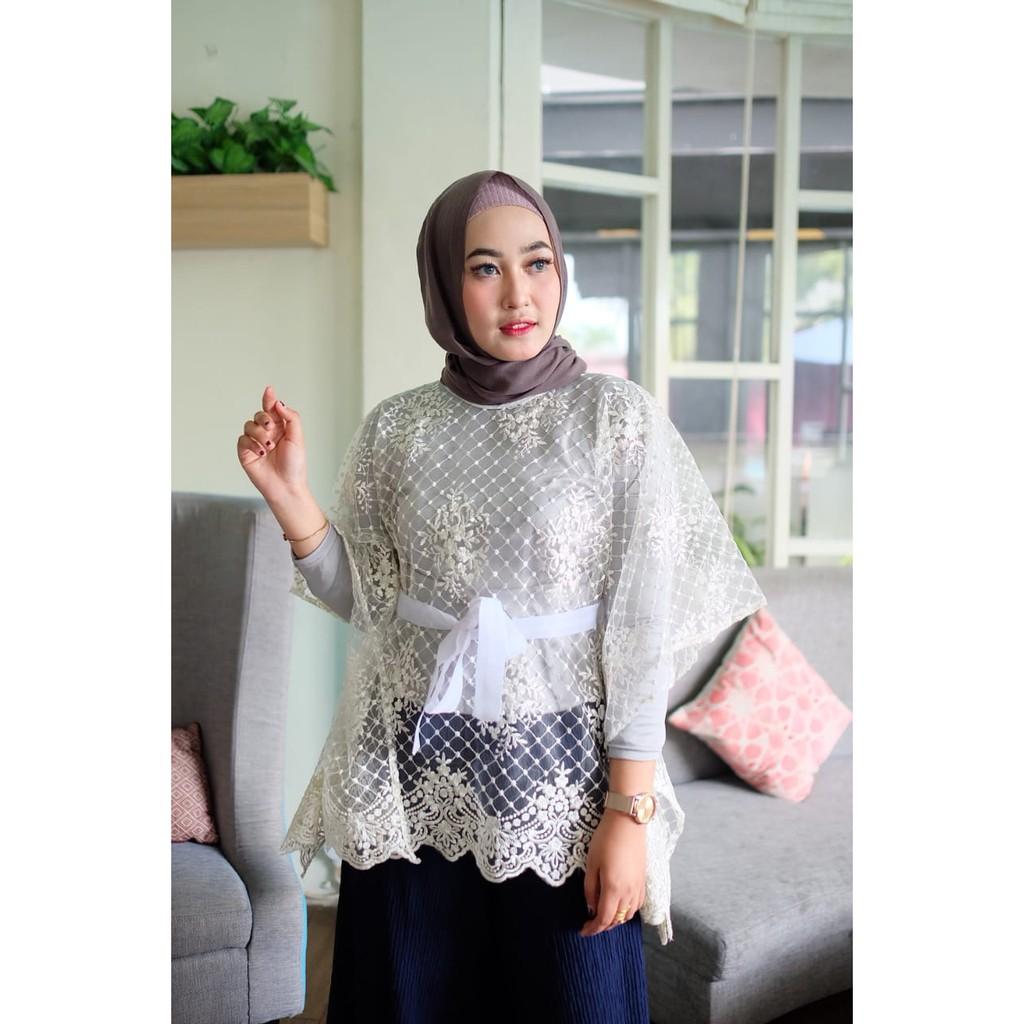 Kebaya Kelelawar Cornelly Top Batwing Terbaru Dan Cantik Shopee Indonesia