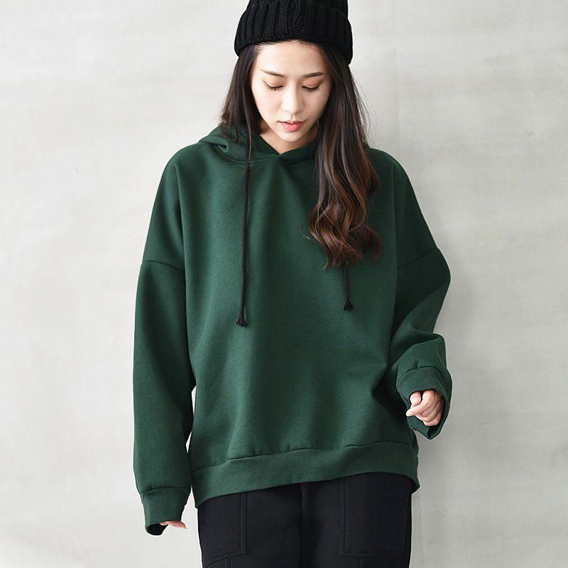 Sweater Kaos Wanita Longgar Kerah Tinggi Lengan Panjang Motif Print Huruf  untuk Musim Gugur q2182  1213eb6dbf