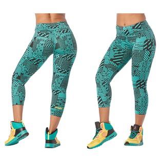 Zumba Celana Legging Capri Sport Untuk Fitness Z1b00823 Shopee Indonesia