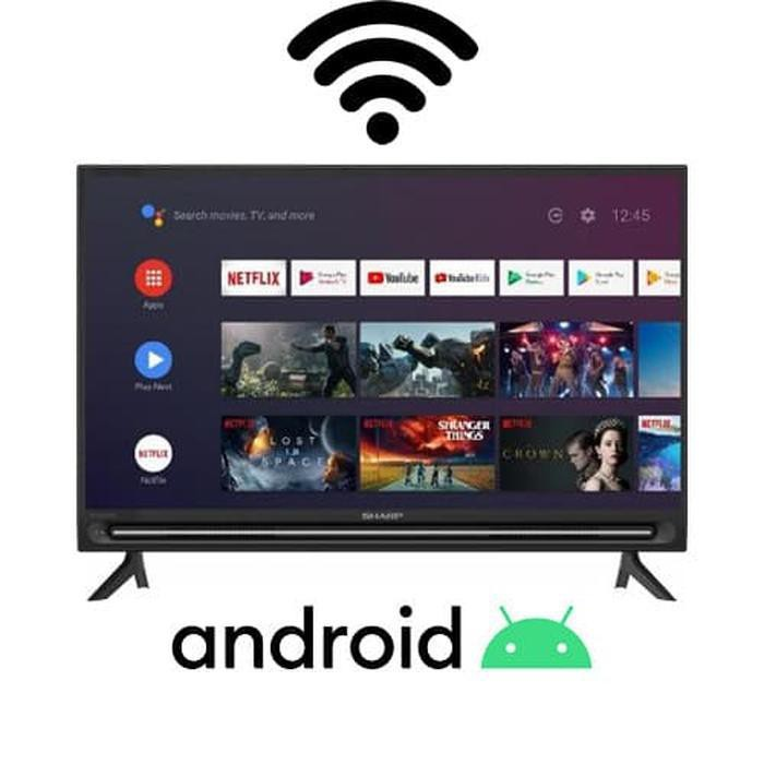 [Televisi/TV] Sharp Aquos 32 inch Android Smart LED TV 2T-C32BG1i