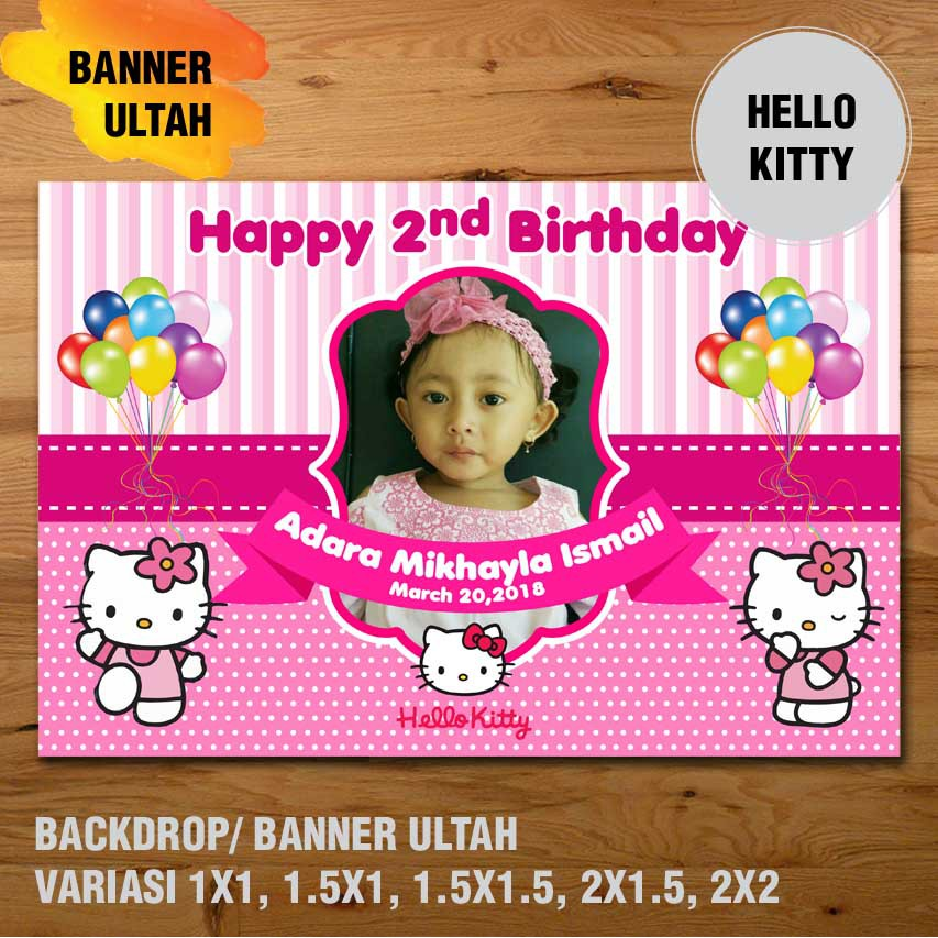 banner ultah hello kitty