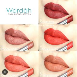 Wardah Longlasting Lipstick New Shade 15-19. suka: 11 .