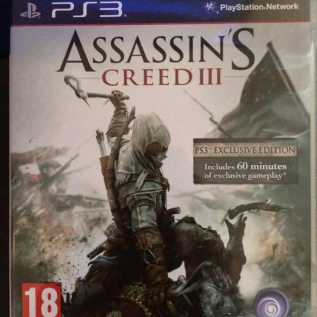 Assassin S Creed Iii Game Ps3 Original Shopee Indonesia