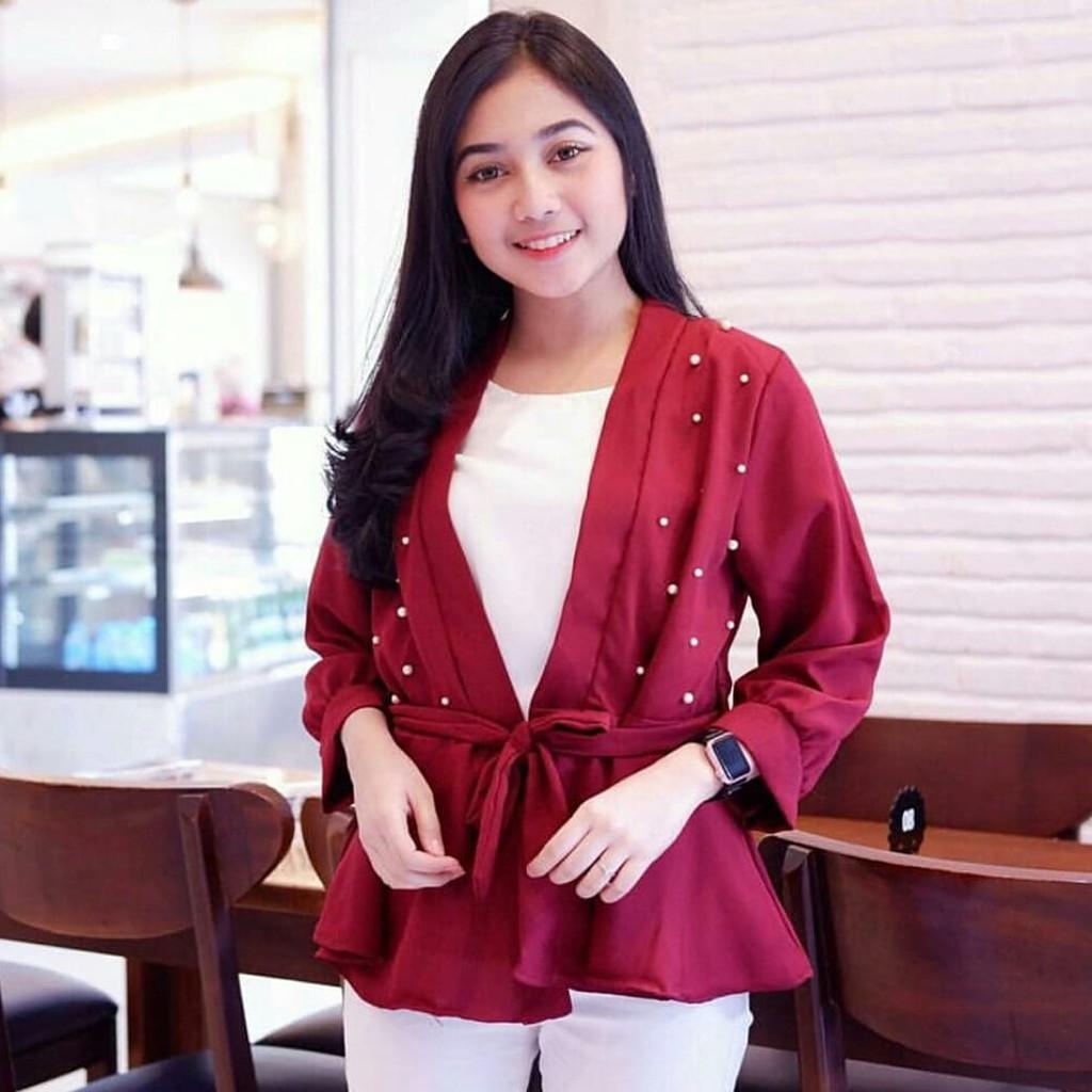 Cardi Minimo Shopee Indonesia Kaos Pria Lengan Panjang Baracas Tosca Ls