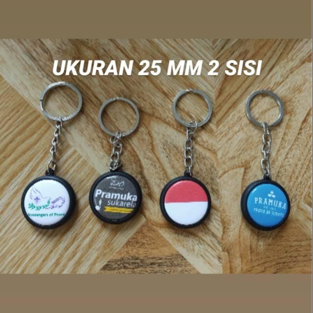 Gantungan Kunci Mini HP Ukuran 25mm 2,5cm
