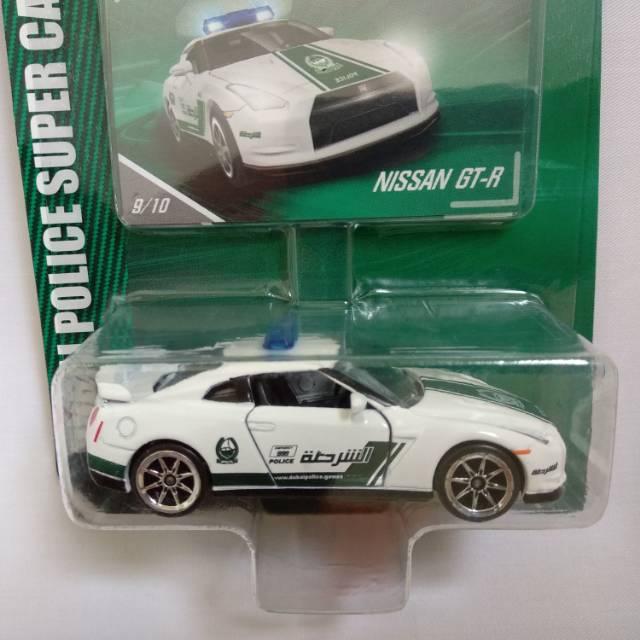 Majorette Nissan GT-R R35 Dubai Police 1//64