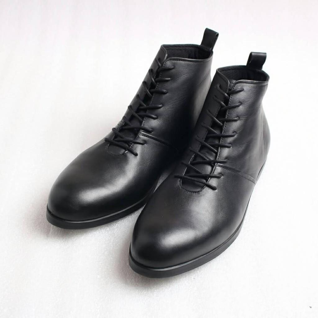ab7a3c32ed833 Boston Milan Sepatu Kulit Kambing Asli Lembut dan Lentur