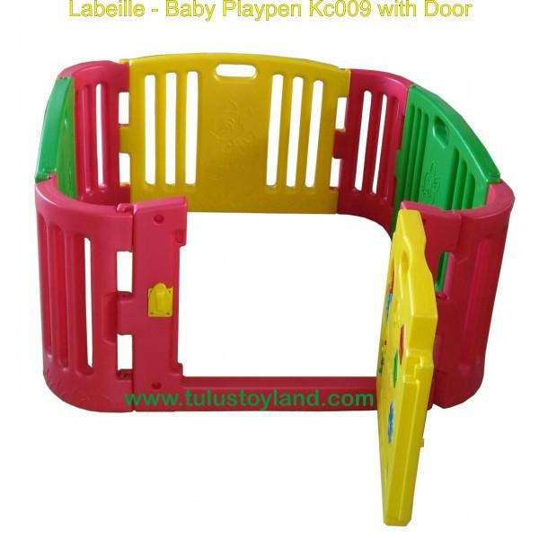 Pagar Bayi Labeille Baby Playpen Kc009 With Door