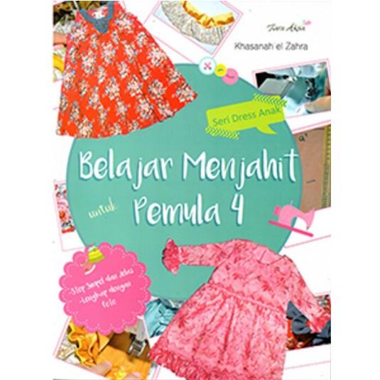 Buku Belajar Menjahit Pemula 1 2 3 4 Shopee Indonesia