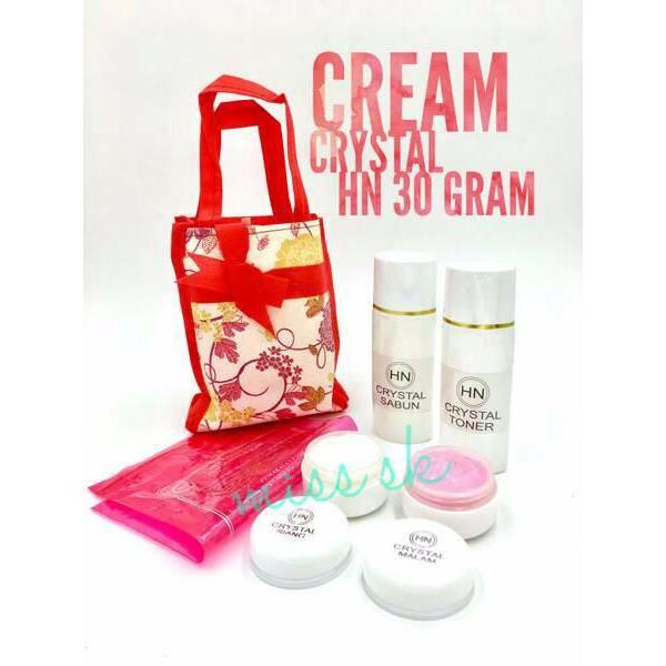 Gratis Sabun Beras Thailand 6 Pcs ... - Cream HN Crystal .