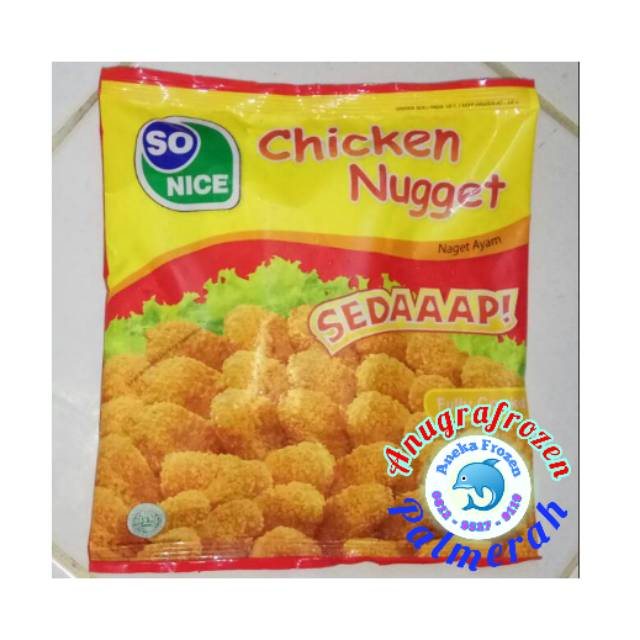 Nugget So Nice 250gr + 20% Exp 2019 *HARGA PEDAGANG