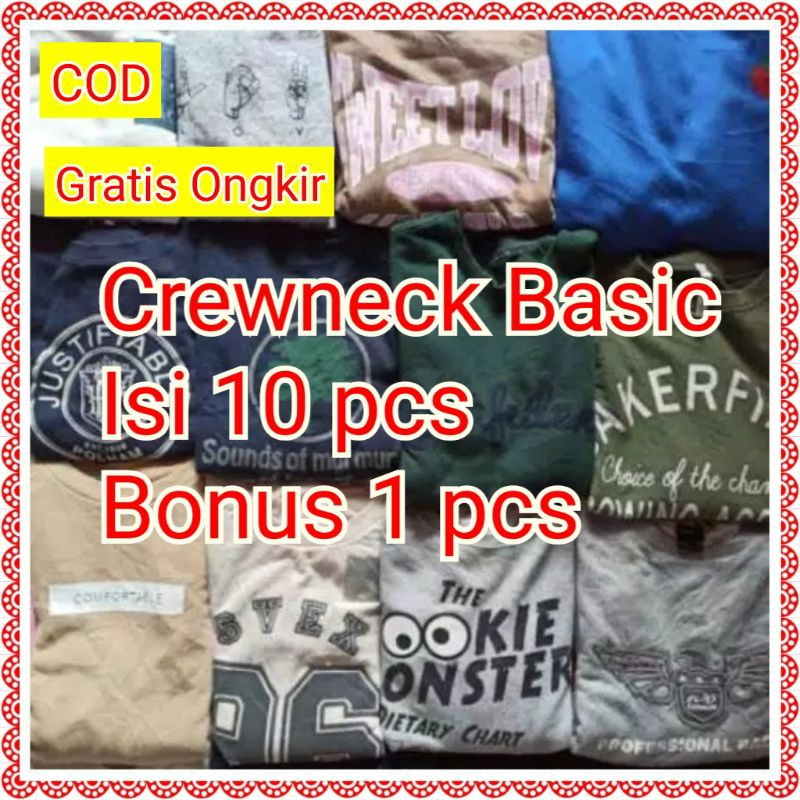 Paket Usaha Thrift Hoodie Crewneck Sweater Jaket Pria Wanita Shop