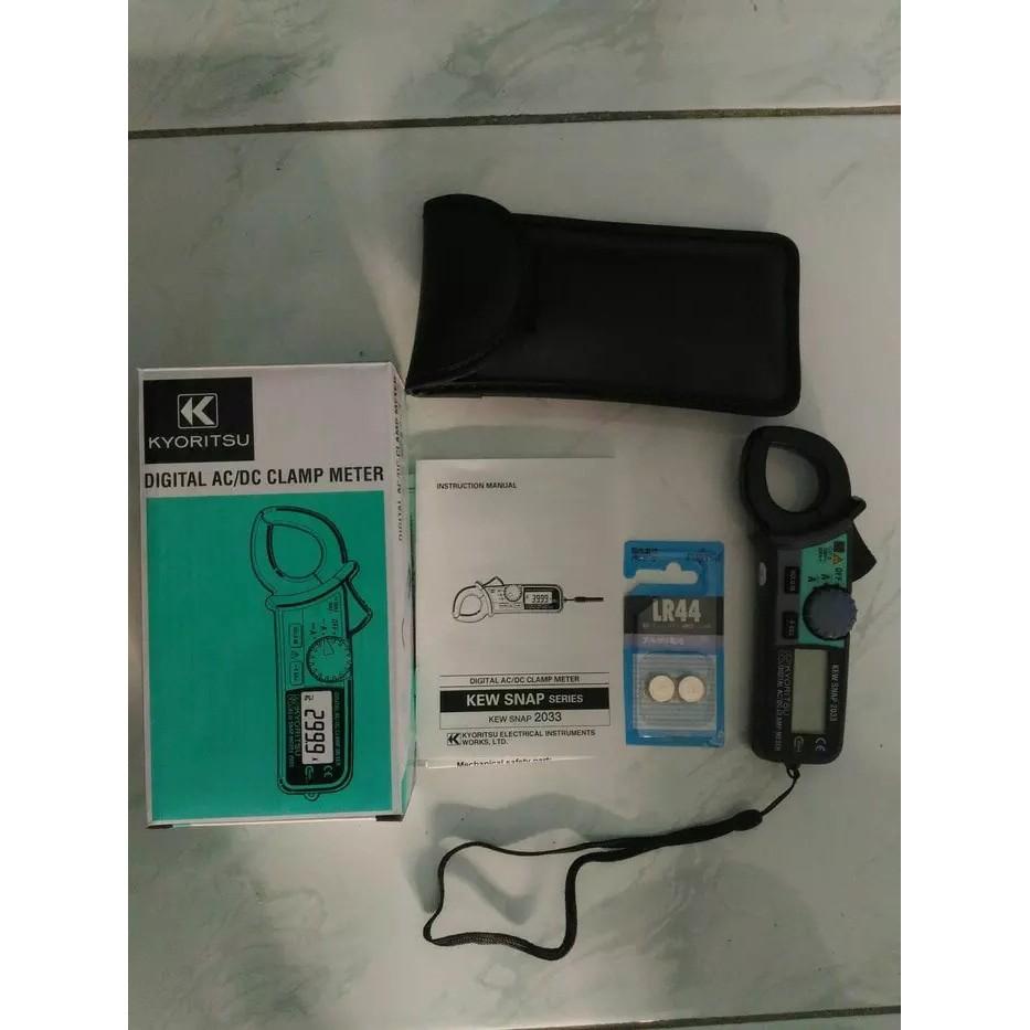 Clamp Meters Kyoritsu 2200r Ac Digital Meter Shopee Tang Ampere 2040 Indonesia