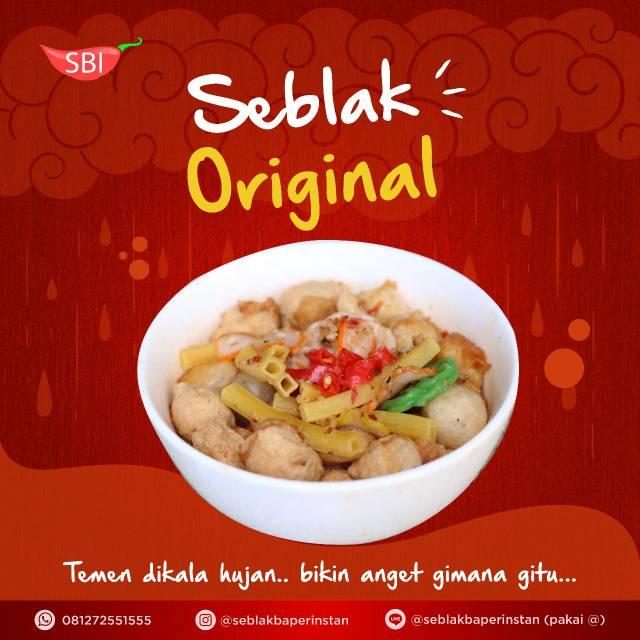 Seblak Baper Instan Original Best Seller Makanan Cemilan Pedas