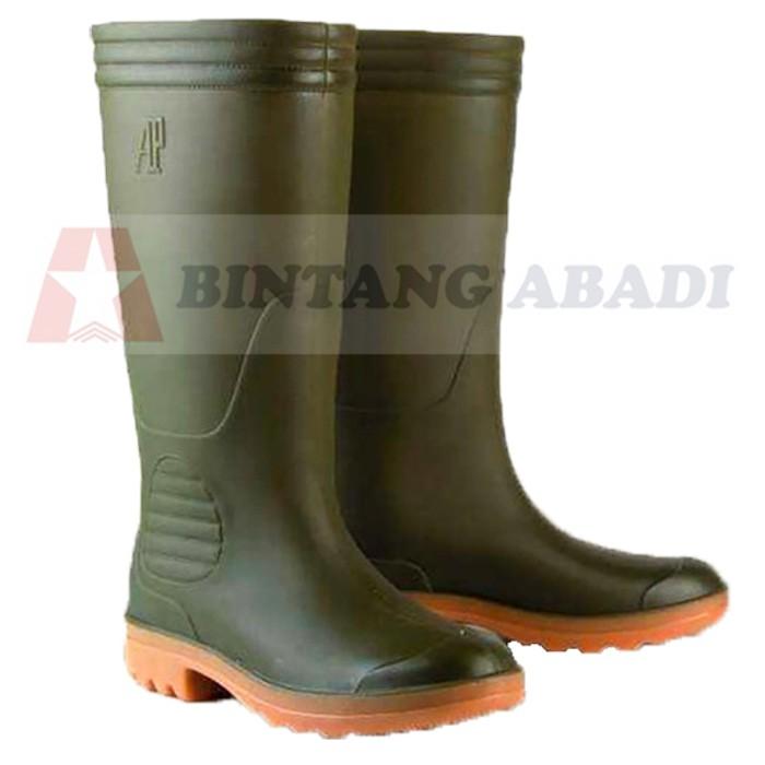 Bazar Gila AP Boots - 9506 Sepatu Boot Kerja Karet Hijau Tua Tinggi Panjang  Gratis Ongkir  d4984e2057