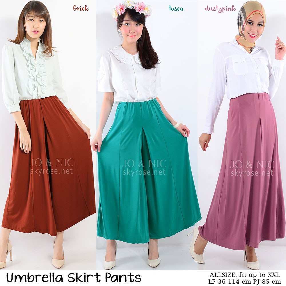 Jo Nic A Line Maxi Skirt Rok Hijab Fit To Xl Dustypink Daftar Wrapped Long Btnl70254