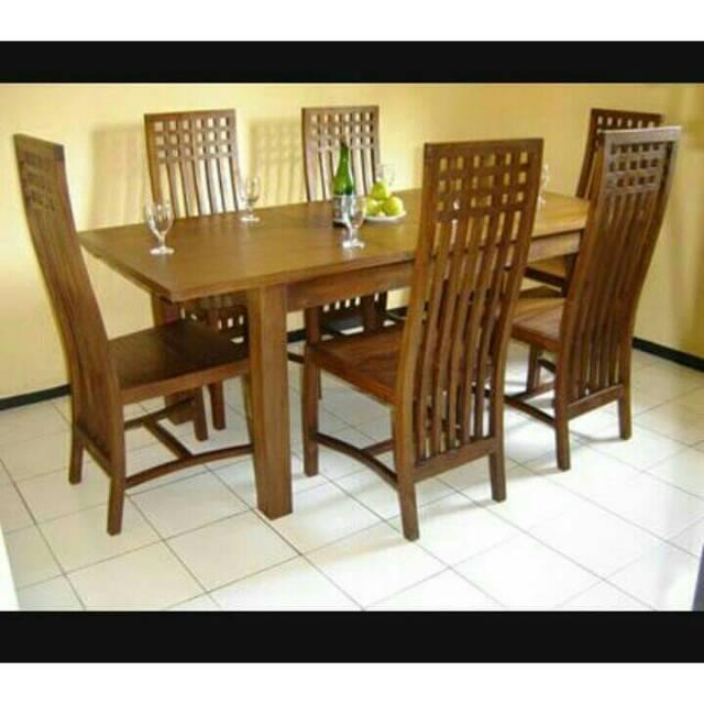 Harga Meja Makan Jati Terbaik Furniture Perlengkapan Rumah Mei 2021 Shopee Indonesia