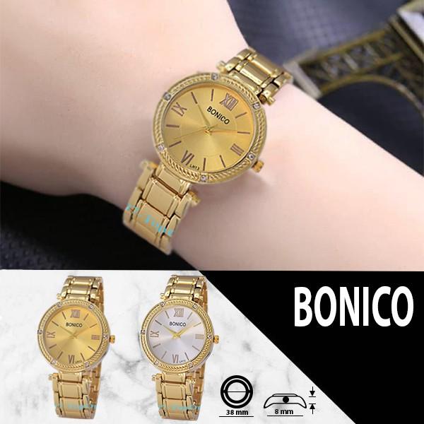 BONICO Original Brand - Jam Tangan Wanita - 3662 Alloy Band