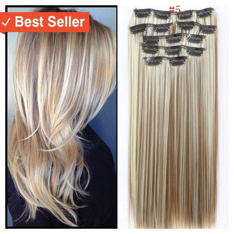 Termurah Original Fashion Style Keren Rambut Palsu Hair Wig Extension Fake Hair Hot Dyeing Shopee Indonesia