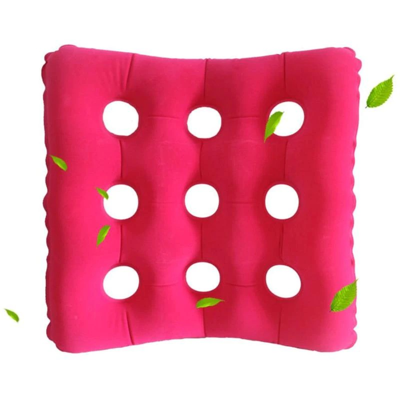 Inflatable Seat Cushion >> Travel Inflatable Chair Cushion Air Seat Cushion Waffle Seat Cushion Heat Sealed For Home Office