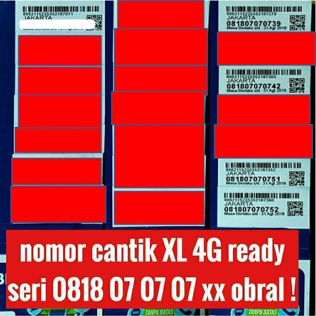 nomer nomor cantik kartu perdana simpati 11 digit telkomsel 4G lte | Shopee Indonesia