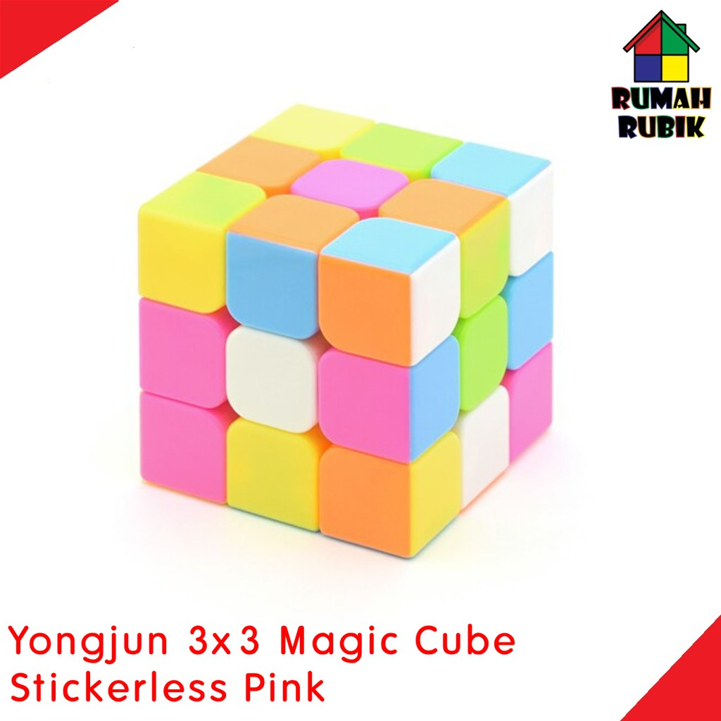 SALE Rubik 3x3 Yong Jun YJ Yulong Speedcube Stickerless | Shopee Indonesia