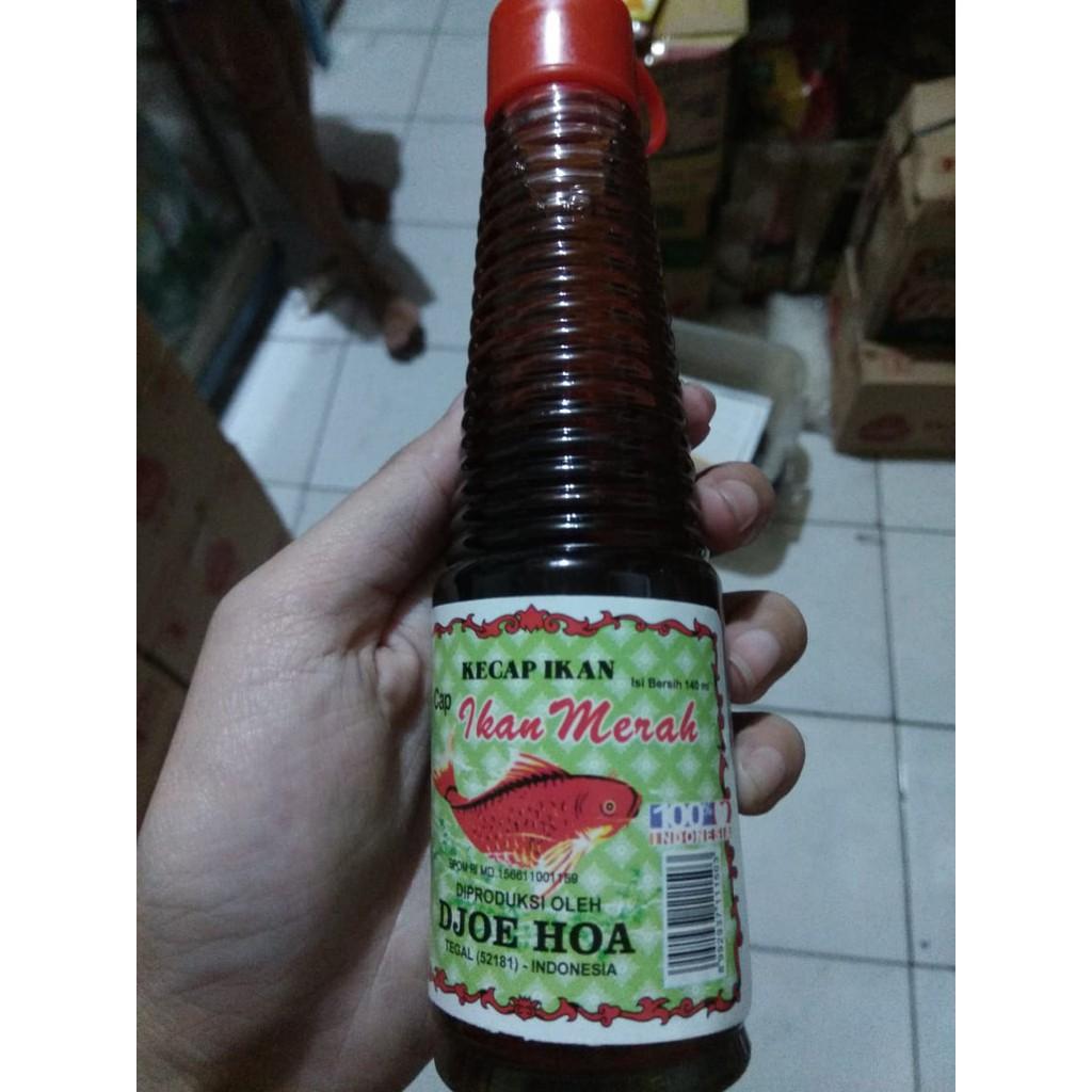 Kecap Ikan Cap Ikan Merah Juha Djoe Hoa 140 Ml Shopee Indonesia