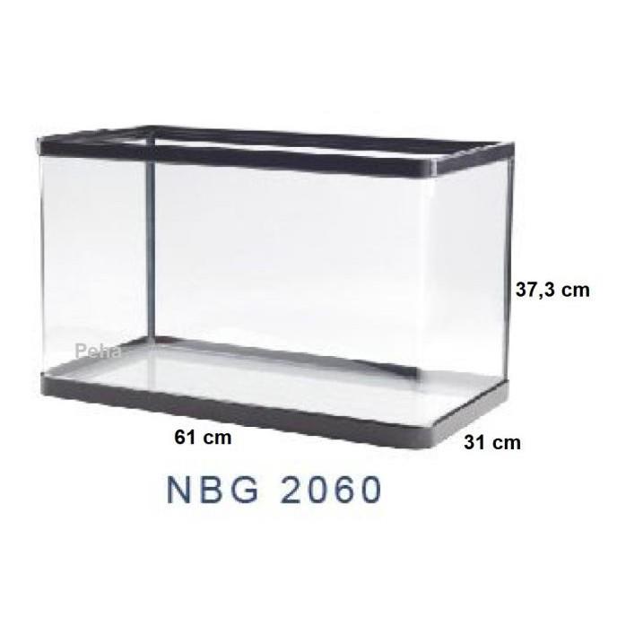 Buruan Beli] Aquarium Ikan - Akuarium Nisso Jepang Manta - Kaca Lengkung Nbg 2060