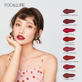 FOCALLURE Velvet Lipstick - Newest Sexy Lipstick Original 100% Produk Baru Eksklusif 2