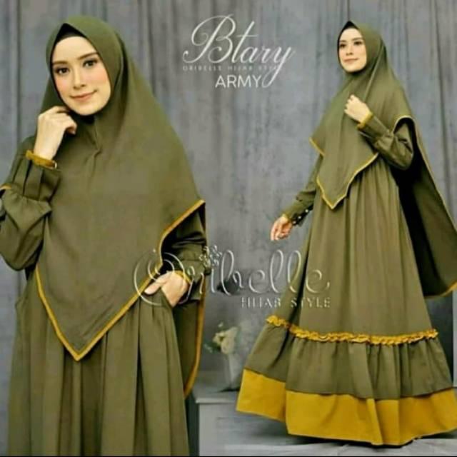 Baju Muslim Wanita Gamis Syari Murah Btary Syari Dress Shopee Indonesia