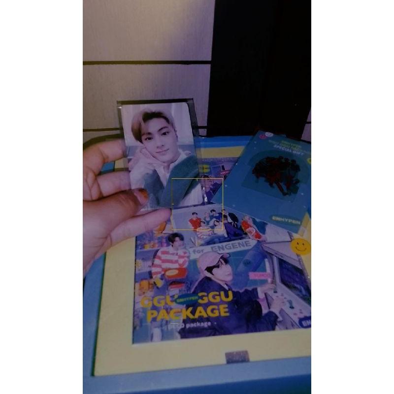 [Ready stok] ggu ggu package unsealed fullset random photocard jay