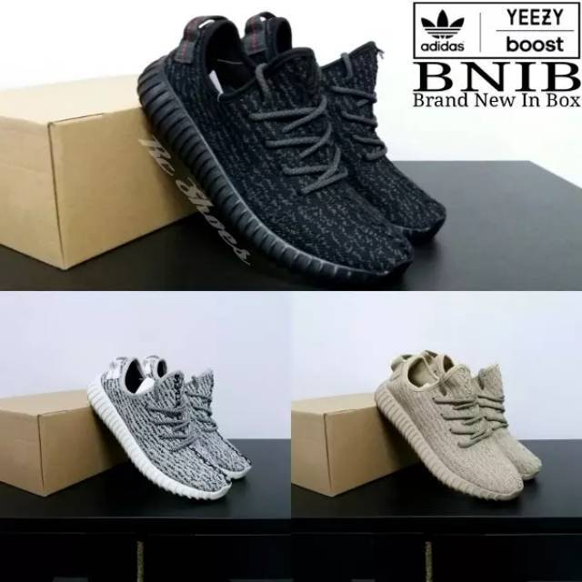 Sepatu Casual Pria Wanita Adidas Yeezy Boost 350 Black Pirate Import Ori  Vietnam Realpict Adidas YZY  c644369b50