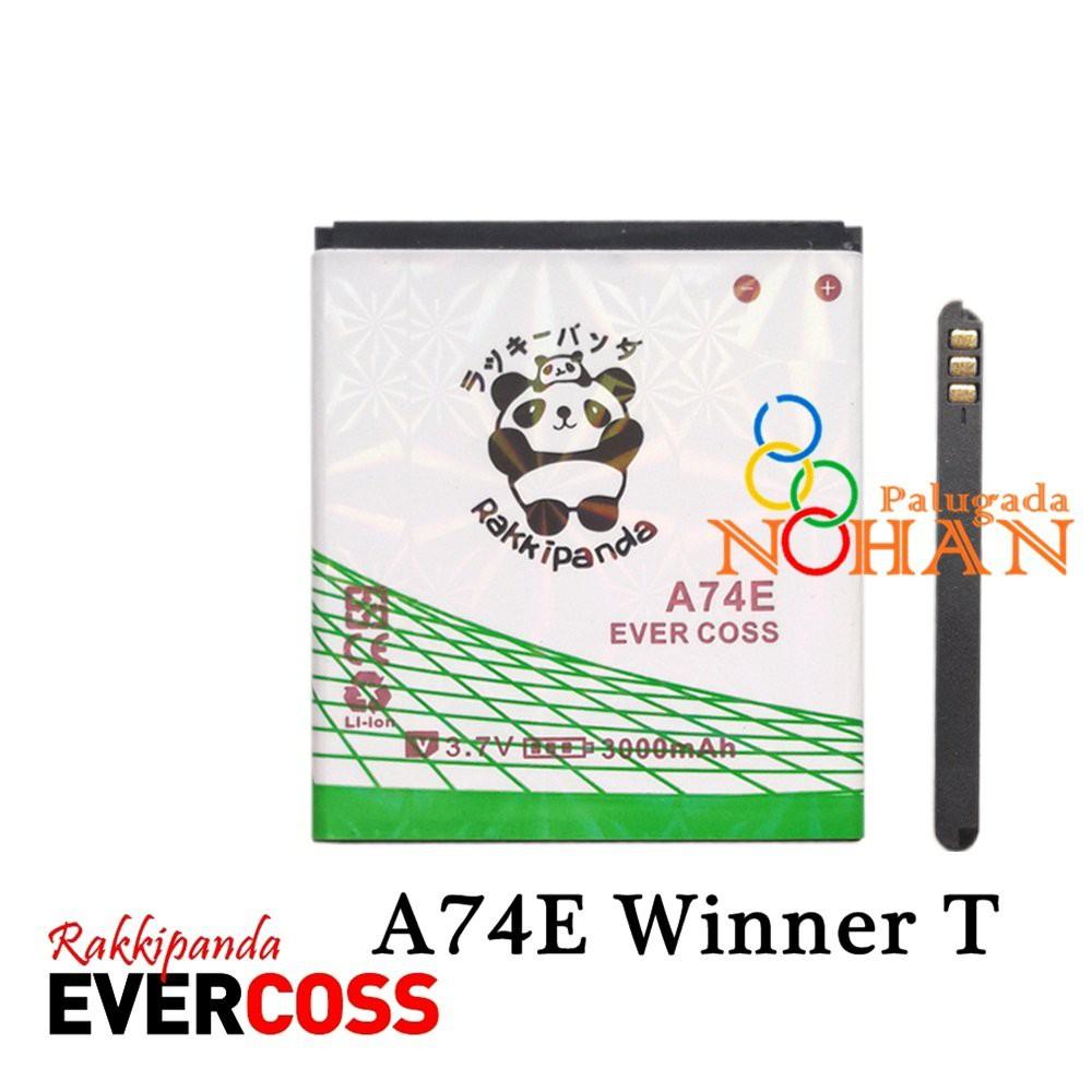 PROMO Baterai Evercoss A74e Winner T Plus Double IC Prote