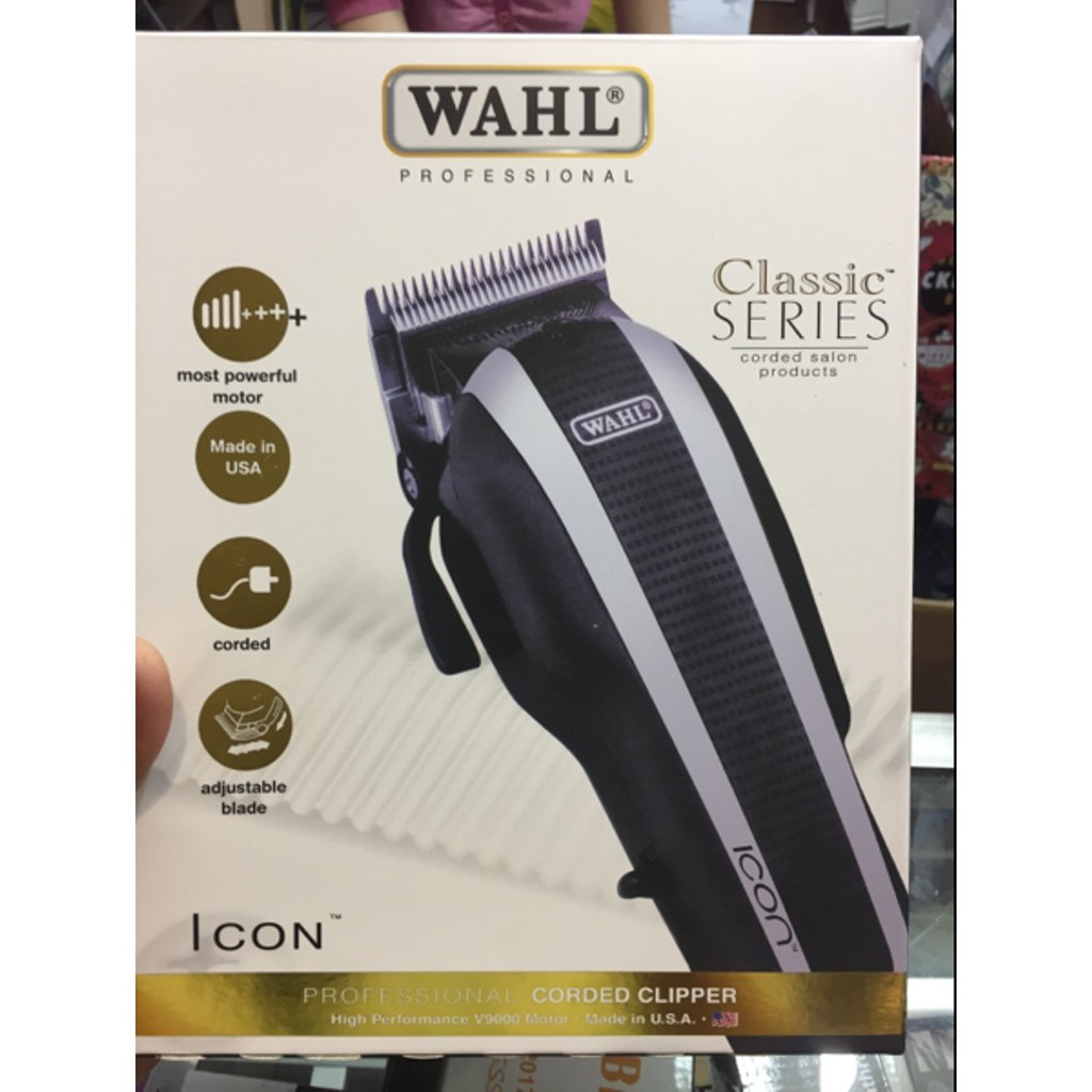 Terbaik Alat Cukur Rambut Hair Clipper Wahl Super Taper Classic Charger Rechargeable Cordless Made In Usa Series Profesional Original Shopee Indonesia