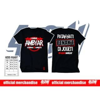 Kaos Sobat Ambyar Shopee Indonesia