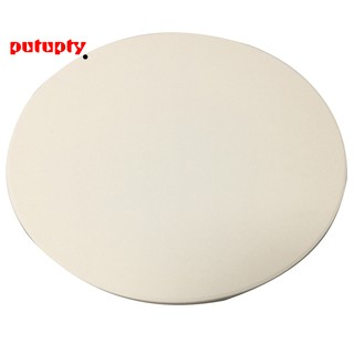 Extra Thick Round Pizza Stone for Cooking Baking Grilling-JUNING