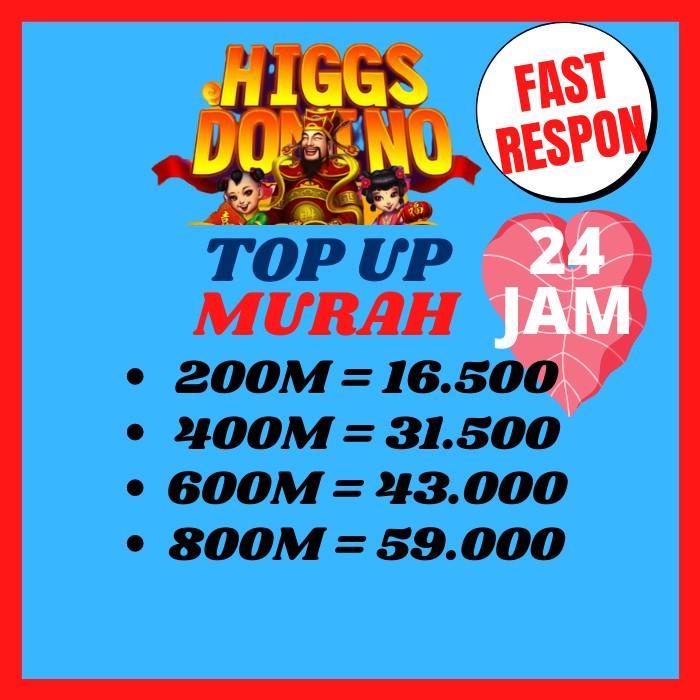 Chip Higgs Domino Murah Chip Biasa Coin Domino Koin Domino Cip Domino Agen Chip Ungu 200M 1B 400M