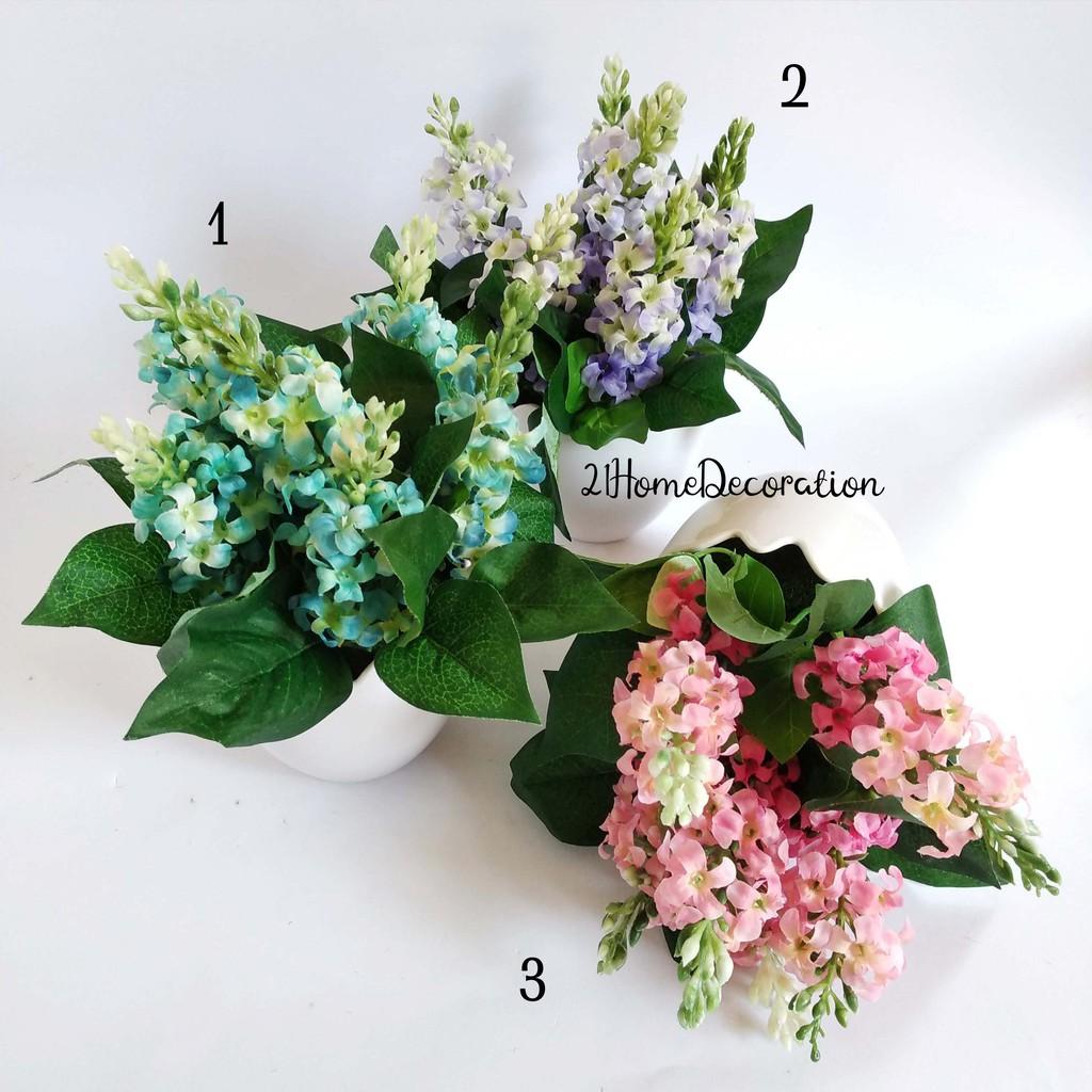 Vas Bunga Kecil Hijau Lumut Dekorasi Rumah Kafe Kantor Shabby Shabbychic  0084d4f292