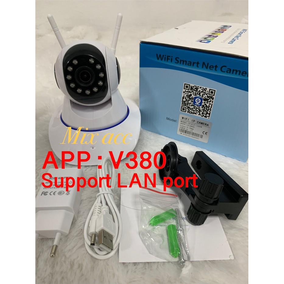 IPcam Onvif p2p Camera WIFI Full Hd 720P Antena