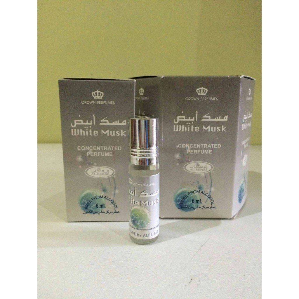 Misk Thaharah Original Arab Saudi | Musk Thoharoh tetes 3 ml ( Minyak Misik White Misk Surrati ) | Shopee Indonesia