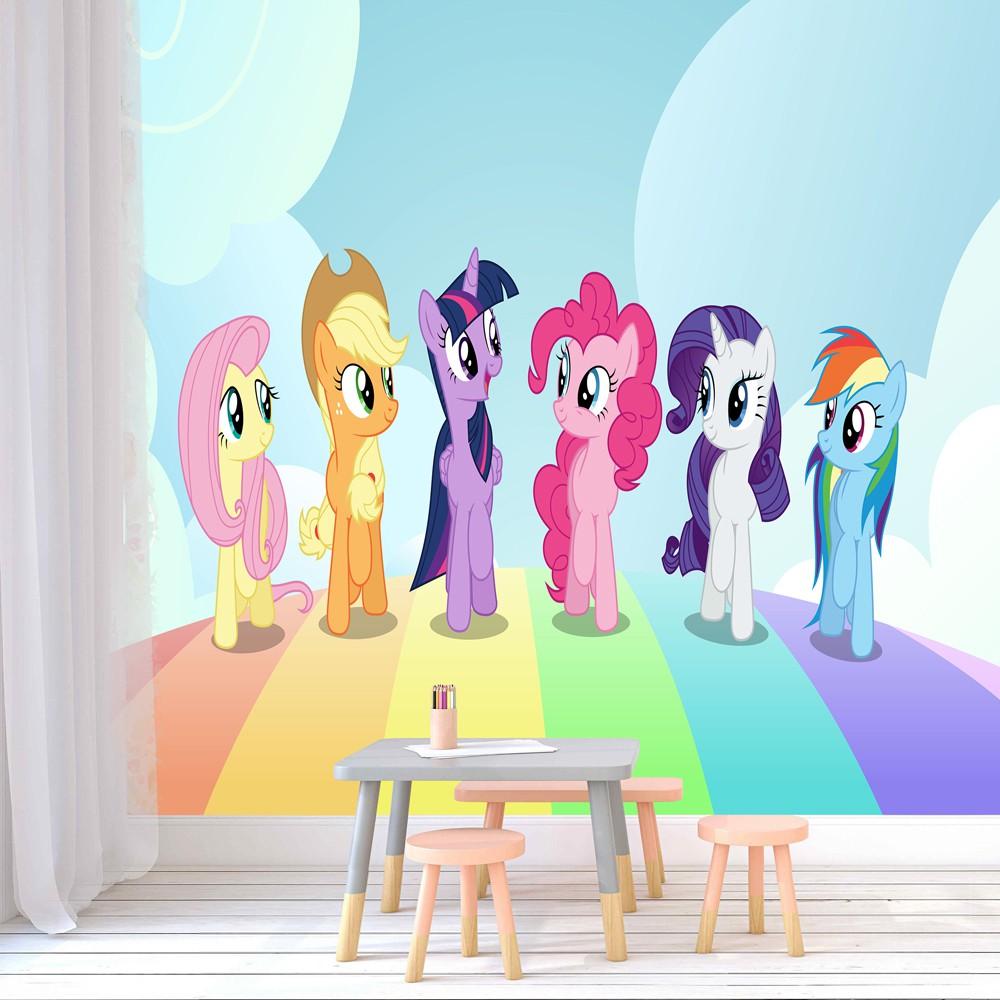 Wallpaper Custom Mural Photowall Background My Little Pony Shopee Indonesia