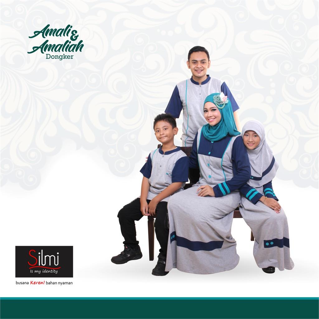 B01| Sarimbit Couple Keluarga Seragam Muslim Baju Baru Koko Gamis Ayah Ibu Anak Branded Murah | Shopee Indonesia