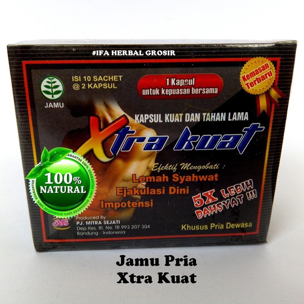 kapsul xtra kuat untuk pria dewasa shopee indonesia