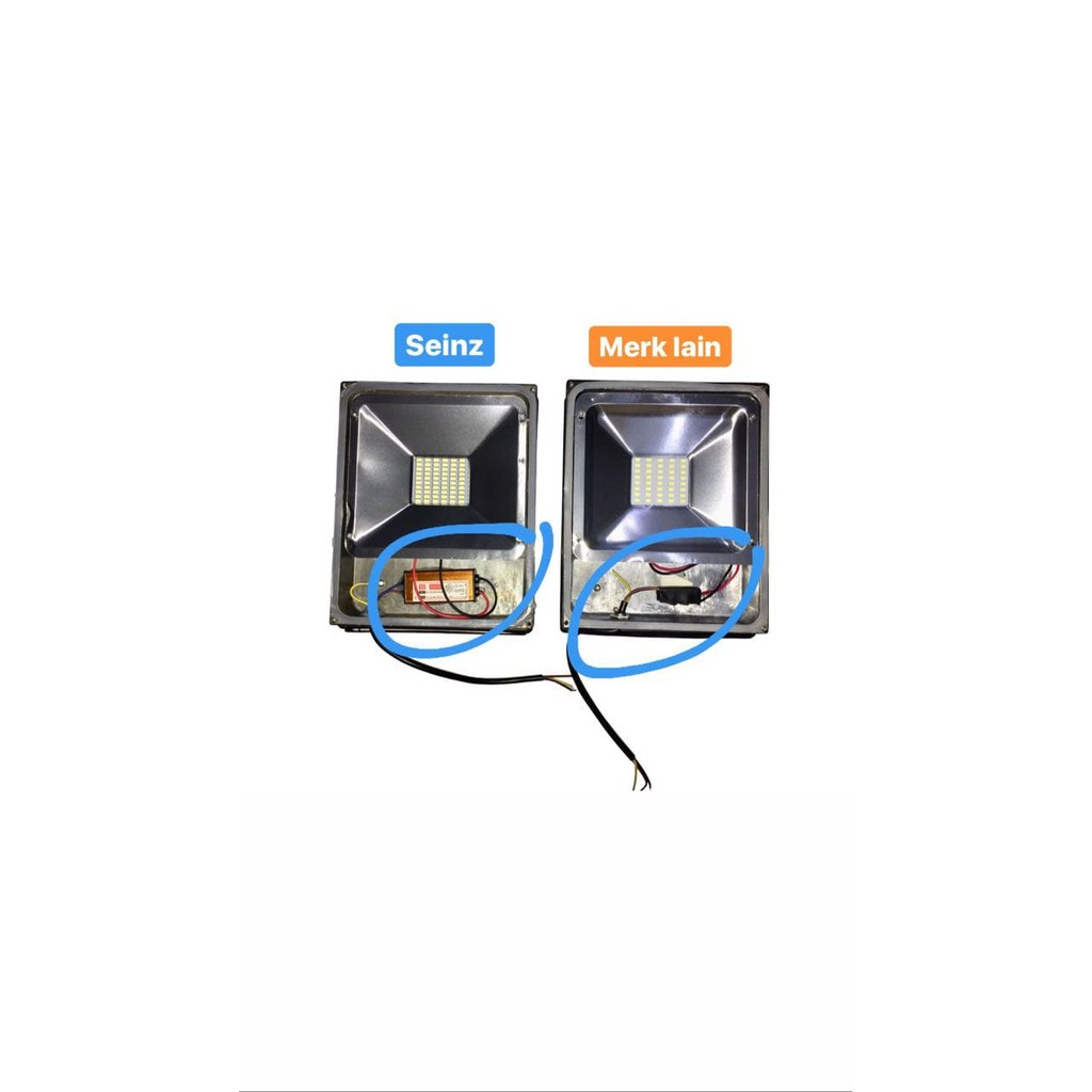Lampu Led Sorot Kap Big Power Floodlight Dc 12v 50w Visicom Shopee Tcash Lebaran Miniso Headphones Indonesia