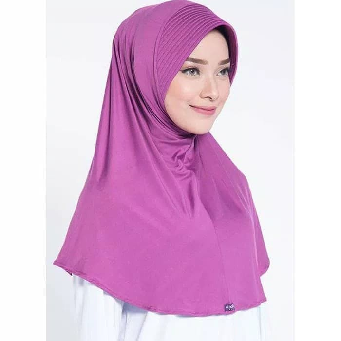Termurah Terlaris Elzatta Hijab Jilbab Bergo Instan Zaria Casual Shopee Indonesia