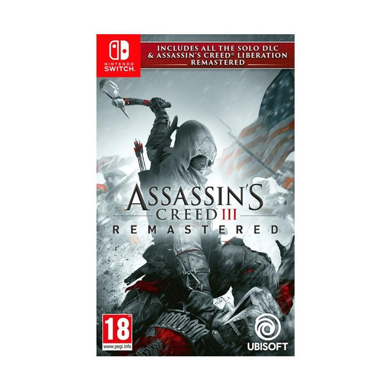 Nintendo Switch Assassins Creed Iii Assassins Creed 3 Remastered Switch English Cartridge Game Shopee Indonesia